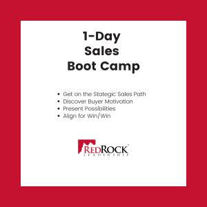 RedRock 1-Day Sales Boot Camp