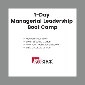 RedRock 1-Day Managerial Leadership Boot Camp