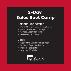 RedRock 2-Day Sales Bootcamp