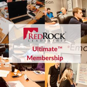RedRock Leadership Ultimate Membership Options